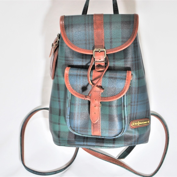 217a024ec Polo by Ralph Lauren Bags | Polo Ralph Lauren Green Plaid 90s ...